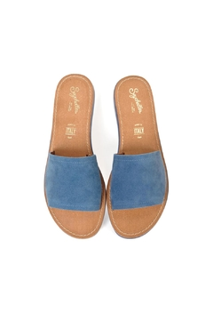 Seychelles Blue Slide Sandals - Alternate List Image