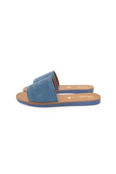 Seychelles Blue Slide Sandals - Product List Image