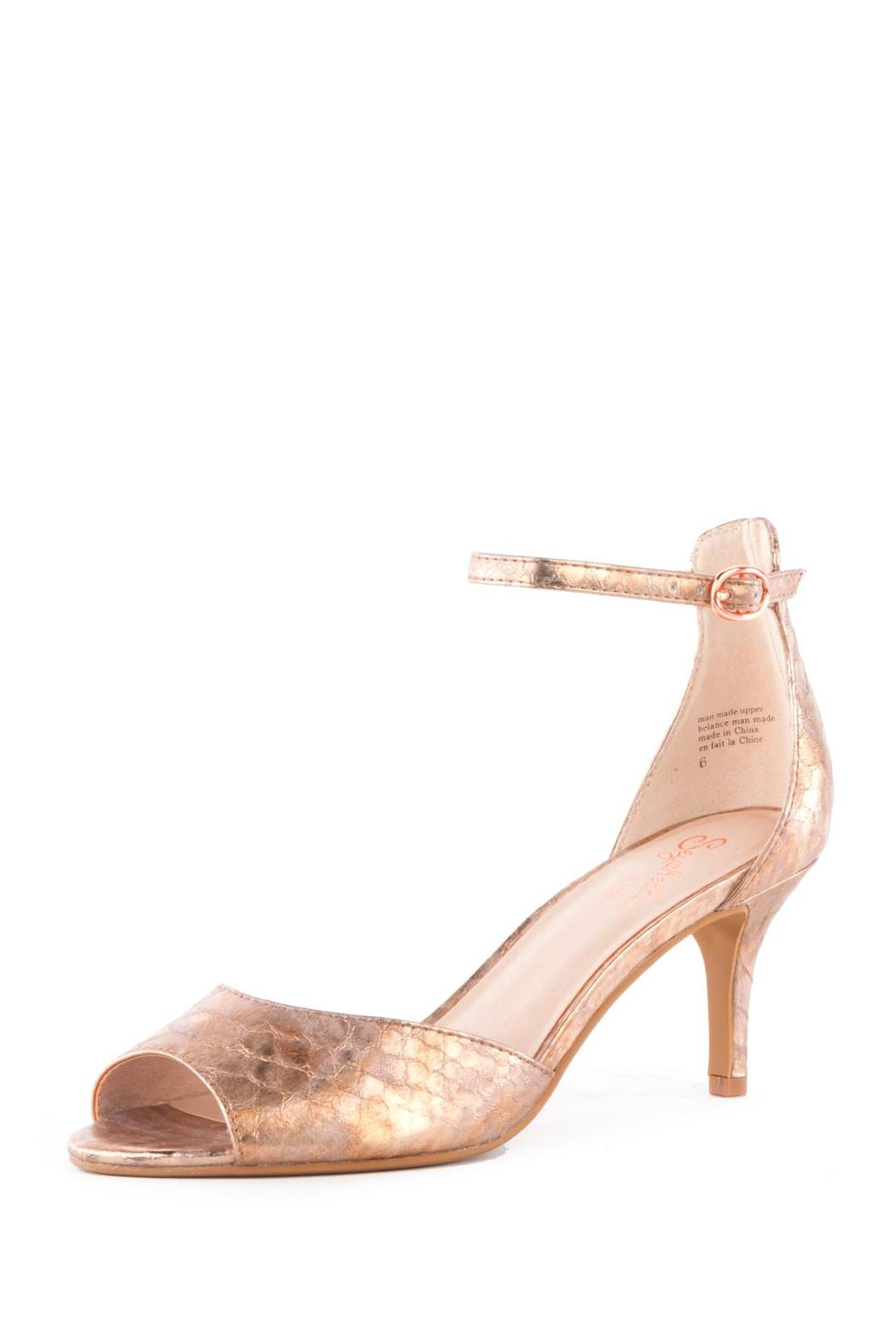Seychelles Rose Gold Mid-Heel from Atlanta by Sole shoes ...