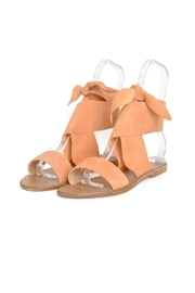 Seychelles Suede Tie Sandals - Front full body