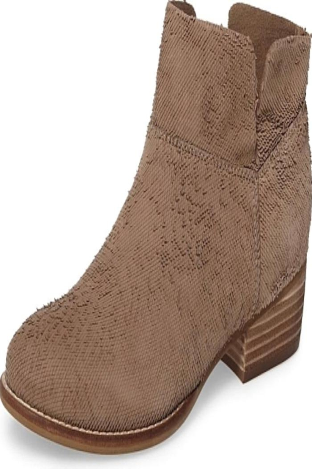 Seychelles Taupe Suede Shoes - Main Image