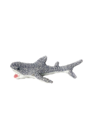 Mon Ami 'Seymore' Shark Baby Rattle - Front cropped