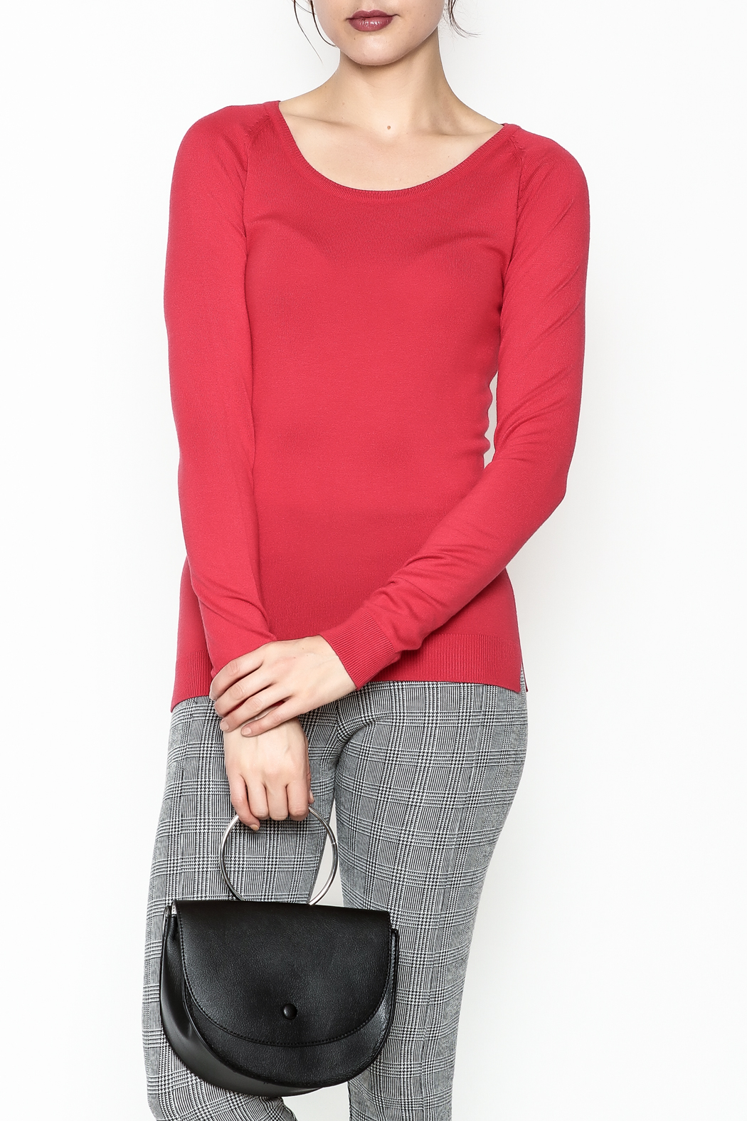 Sferra Versatile Sweater - Front Cropped Image