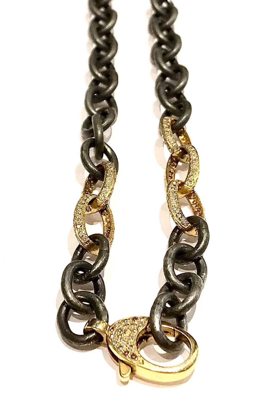 Slate Gray Gallery Gold Oss Chain - Main Image