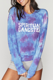 Spiritual Gangster  SGV Crew Neck Savasana - Front cropped