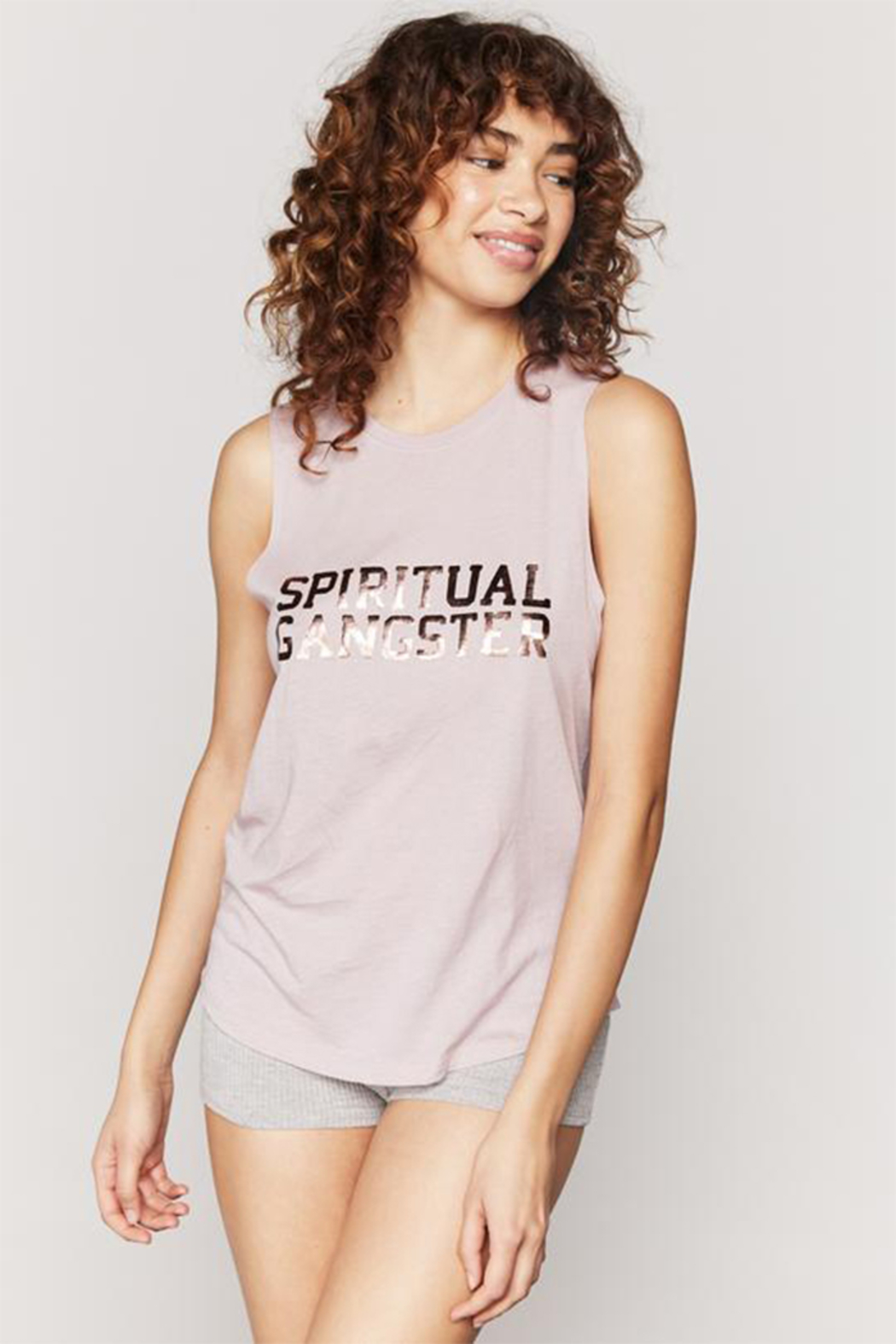 Spiritual Gangster  SGV Muscle Tank - Front Full Image