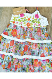 Mimi and Maggie Shade Plants Dress - Front cropped