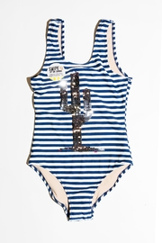 shade critters PALM BEACH Cactus Stripe One-Piece - Front full body