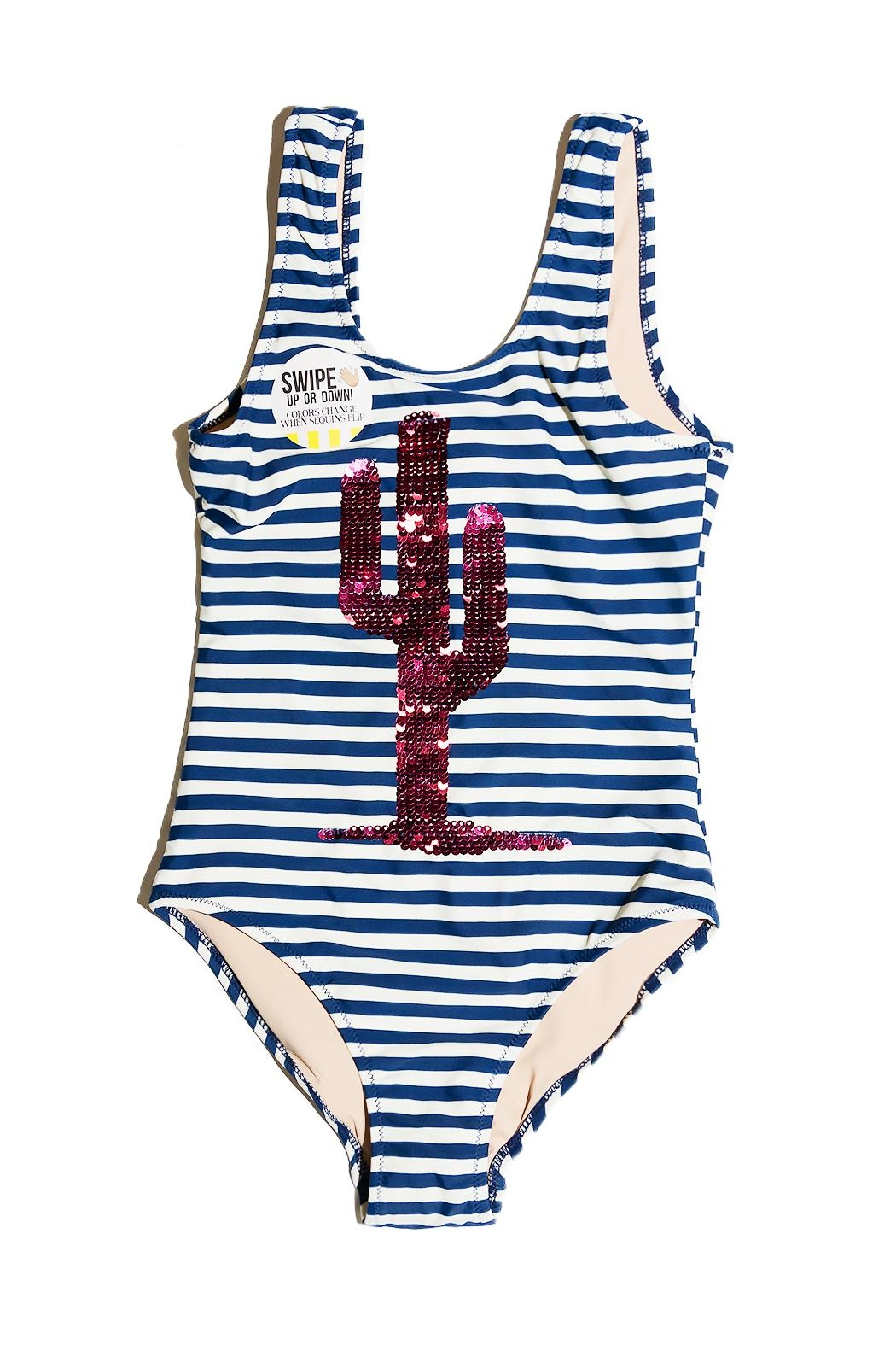 shade critters PALM BEACH Cactus Stripe One-Piece - Main Image