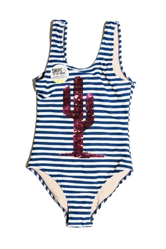 shade critters PALM BEACH Cactus Stripe One-Piece - Product List Image