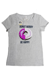 shade critters PALM BEACH Donut Worry Sequin - Front cropped