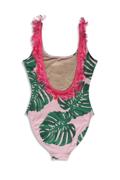 shade critters PALM BEACH Pink Palm Onepiece - Alternate List Image