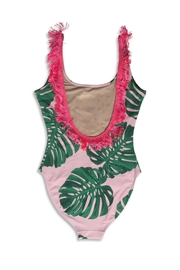 shade critters PALM BEACH Pink Palm Onepiece - Front full body