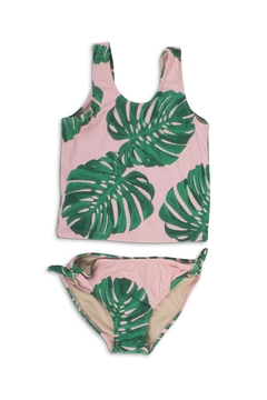 shade critters PALM BEACH Pink Palm Tankini - Product List Image