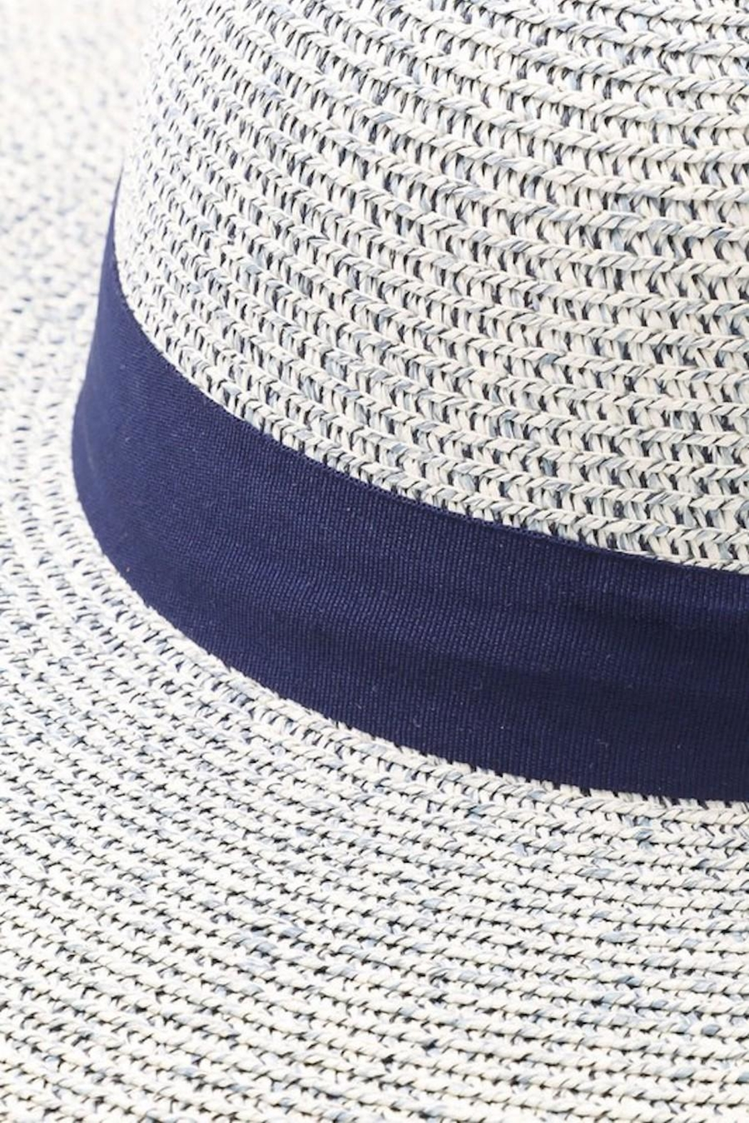Unlabel Shades-Of-Blue Sun Hat - Front Full Image