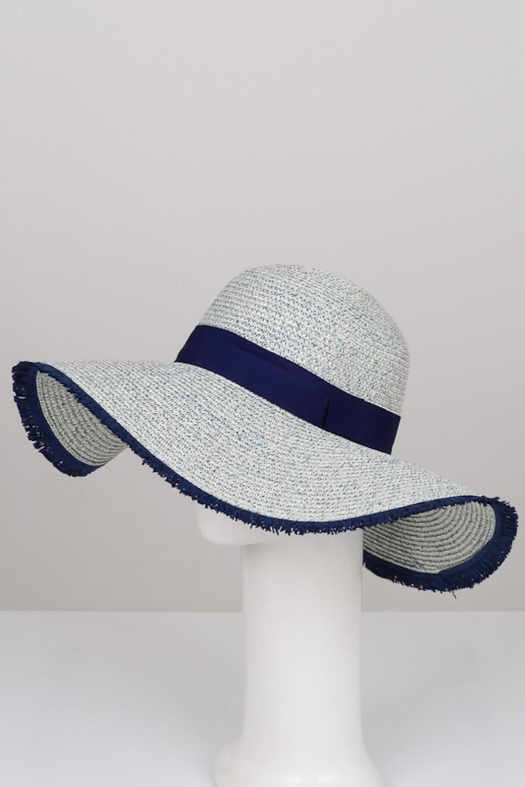 Unlabel Shades-Of-Blue Sun Hat - Side Cropped Image