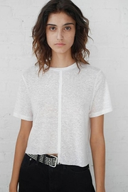 THE RANGE NYC Shadow Linen Tee - Product Mini Image