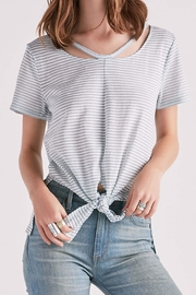 Lucky Brand Shadow Stripe Tee - Product Mini Image