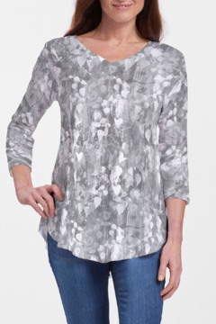Whimsy Rose Shadow - V-Neck Flowy T - Product List Image