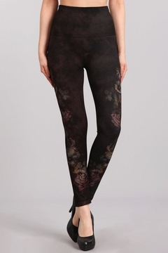 M. Rena Shadowy Garden Leggings - Product List Image