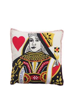 Shoptiques Product: Queen Of Hearts Cushion