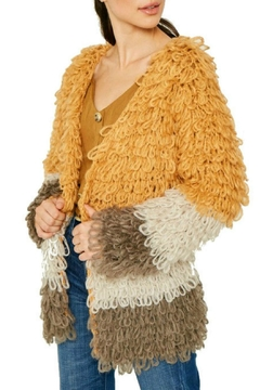 Modern Emporium Shaggy Knit Sweater - Product List Image