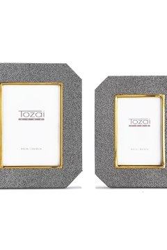 Tozai Home Shagreen Set of Two Picture Frames - Alternate List Image