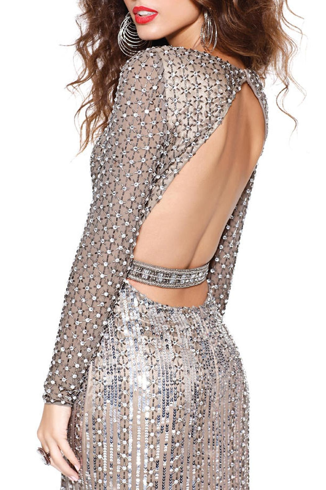 Shail K. Openback  Prom Dress - Front Cropped Image