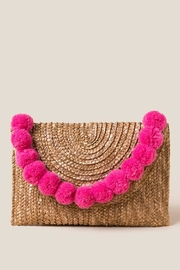 Shiraleah Shake Your Pom Pom Clutch - Product Mini Image