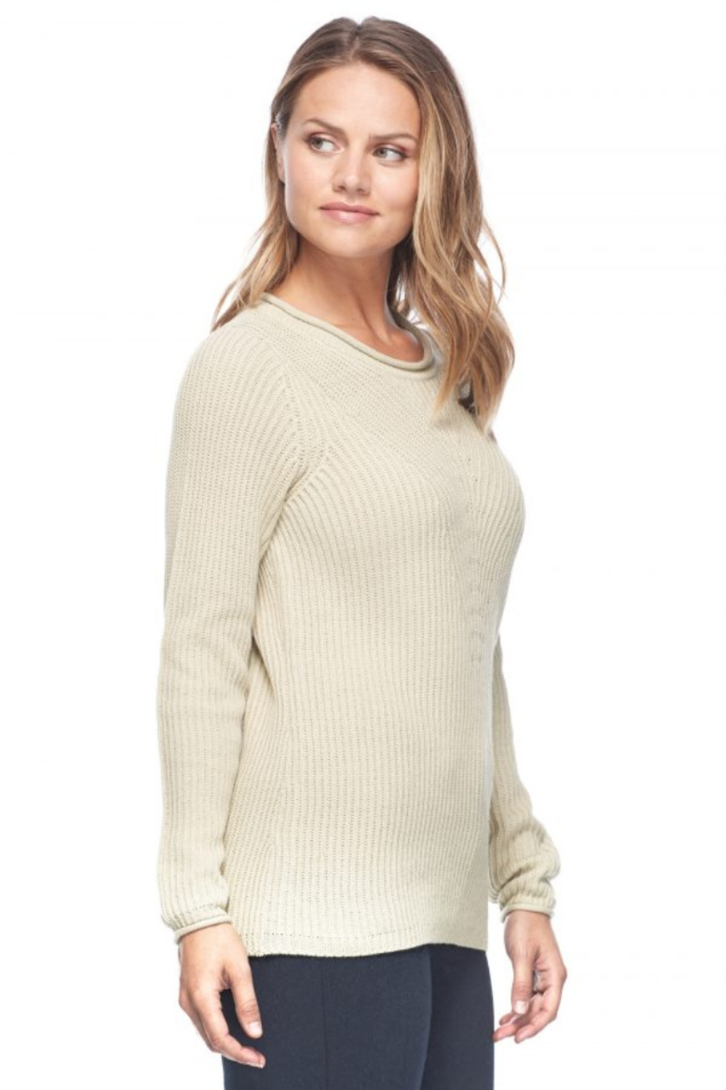 French Dressing Jeans Shaker Crew Sweater - Main Image
