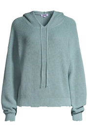 525 America Shaker Sweater w/ Hoodie - Front cropped