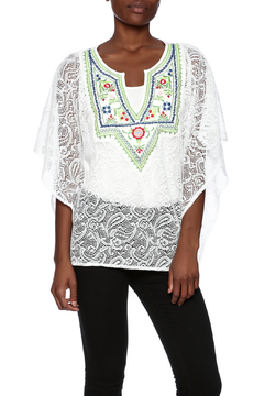 Shoptiques Product: Embroidered Two Piece Top