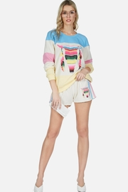 Lauren Moshi Shanda Smocked Shorts - Product Mini Image