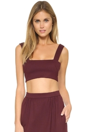 Torn by Ronny Kobo Shandi Bordeaux Top - Product Mini Image