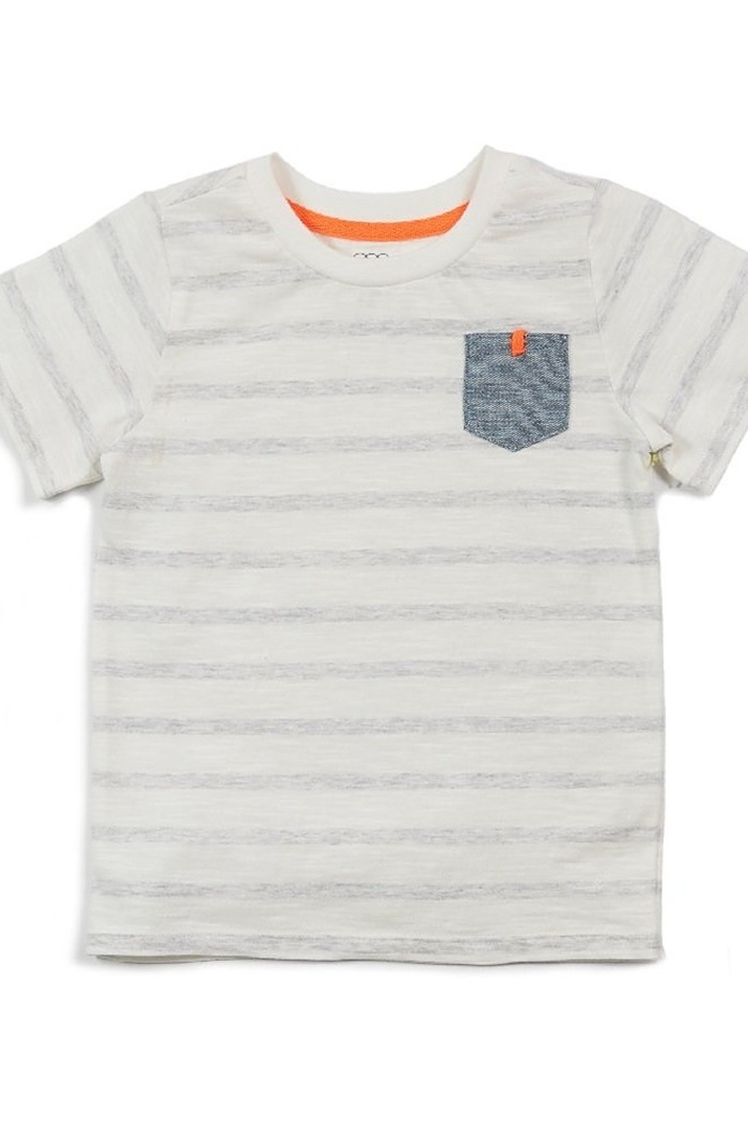 Egg  by Susan Lazar Shane Pocket Tee - Front Cropped Image