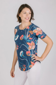Shannon Passero Clementine Top in Pink Floral - Product Mini Image