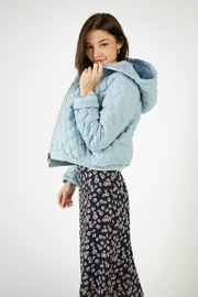 SAGE THE LABEL SHANNON QUILT JACKET - Front cropped