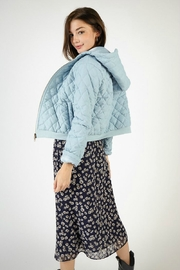 SAGE THE LABEL SHANNON QUILT JACKET - Side cropped