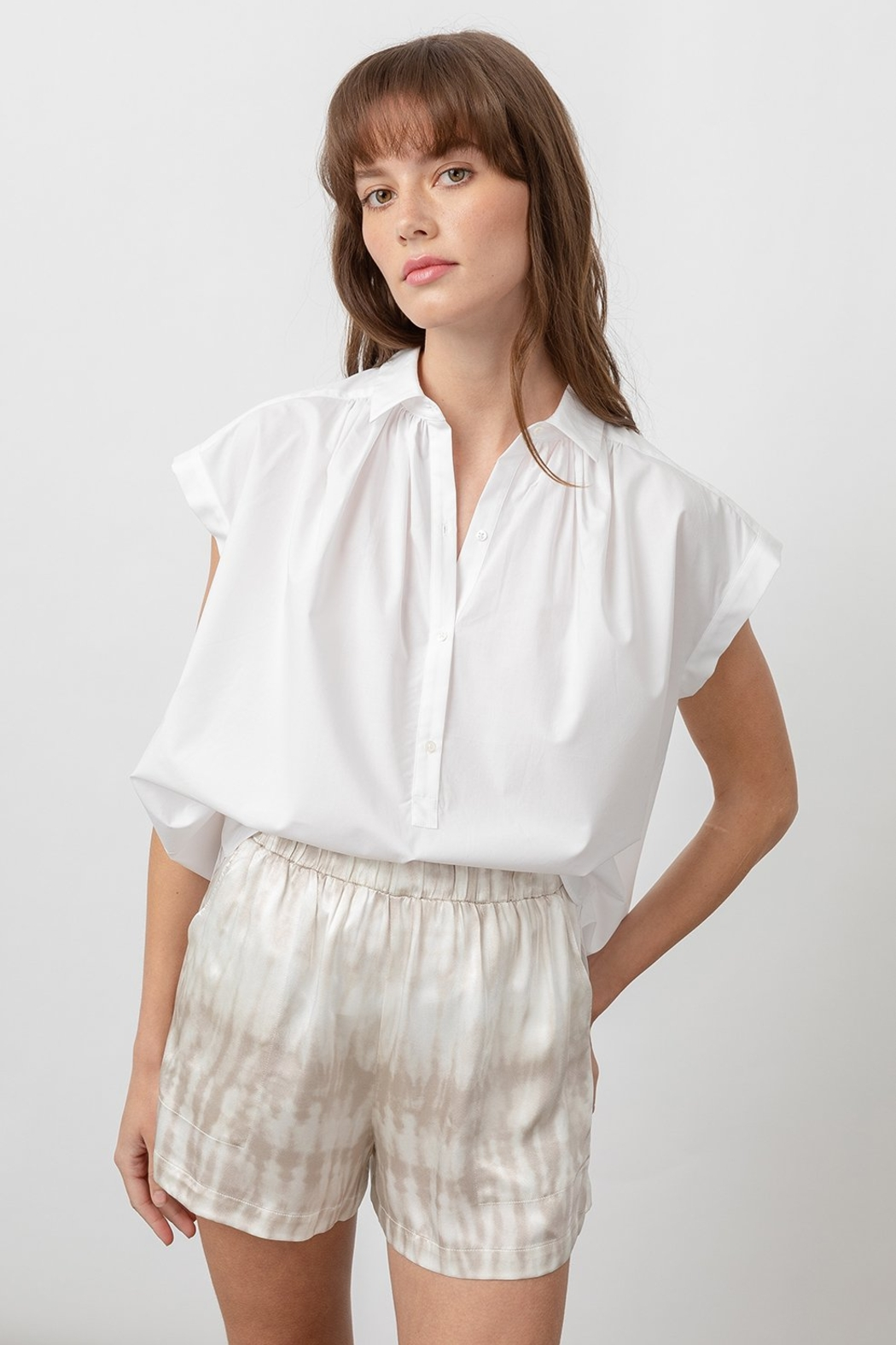 Rails Shannon White Blouse - Front Full Image