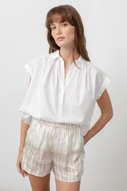 Rails Shannon White Blouse - Front full body