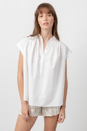 Rails Shannon White Blouse - Front cropped