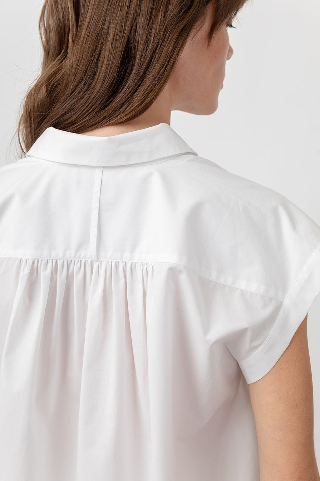 Rails Shannon White Blouse - Side Cropped Image