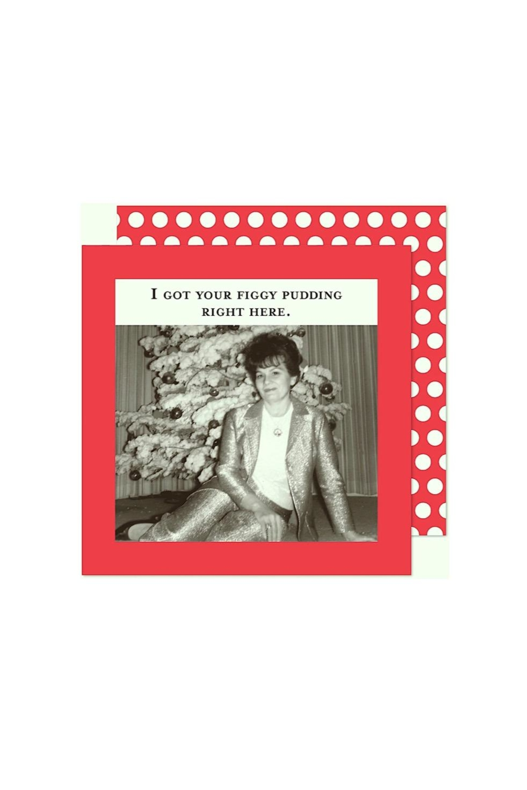 Shannon Martin Holiday Cocktail Napkins - Front Cropped Image