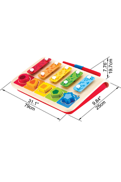 Hape Shape Sorter Xylophone - Alternate List Image