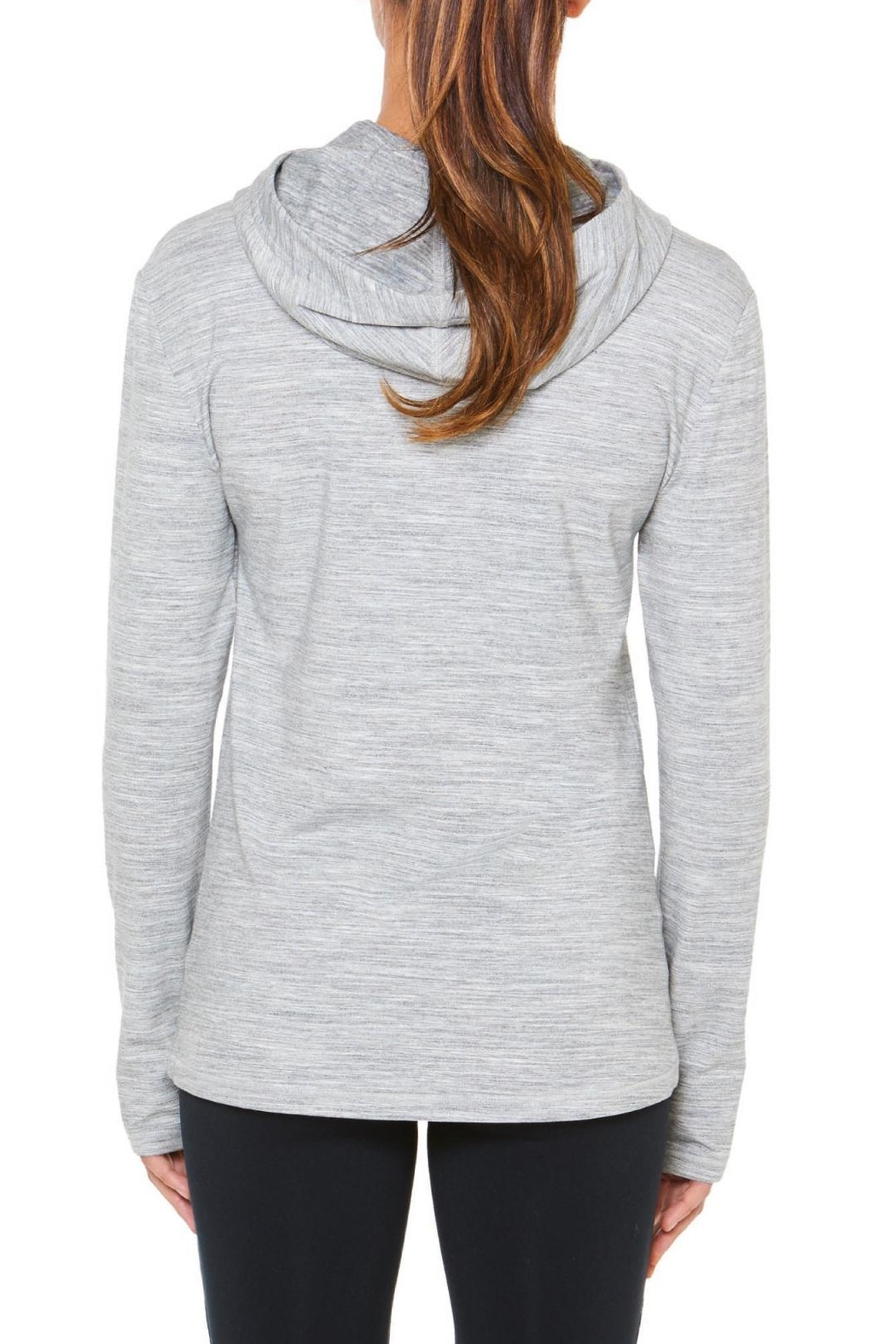 SHAPE Activewear Cowl Pullover - Front Full Image