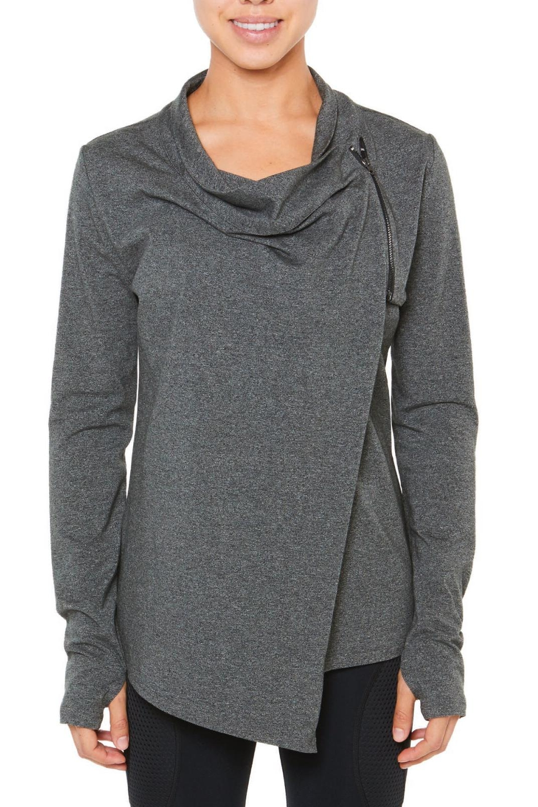 SHAPE Activewear Long Sleeve Wrap - Main Image
