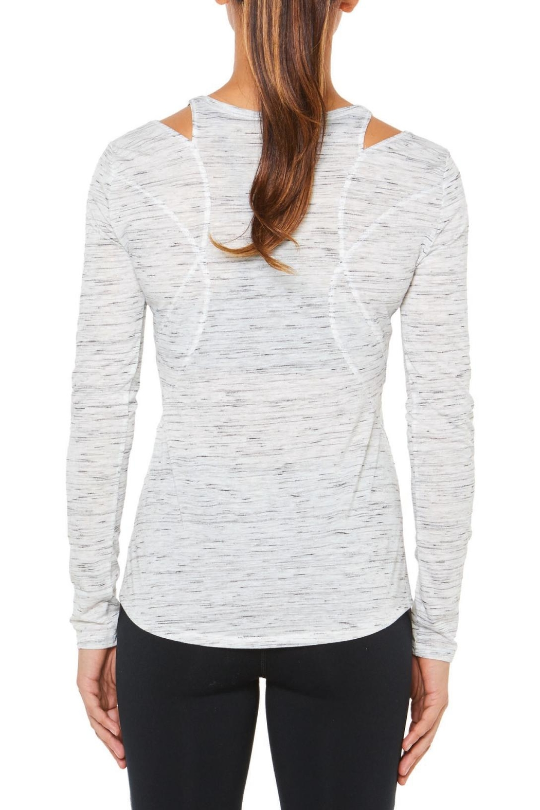 SHAPE Activewear V Neck Tee - Front Full Image