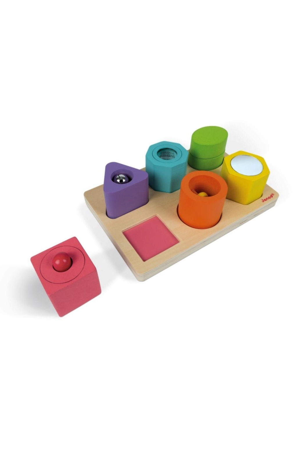 Janod Shapes & Sounds Puzzle - Front Full Image