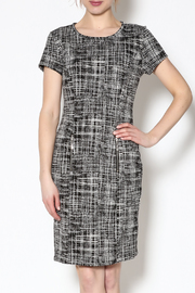 sharagano Textured Office Dress - Product Mini Image