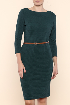 Shoptiques Product: Boat Neck Crepe Dress